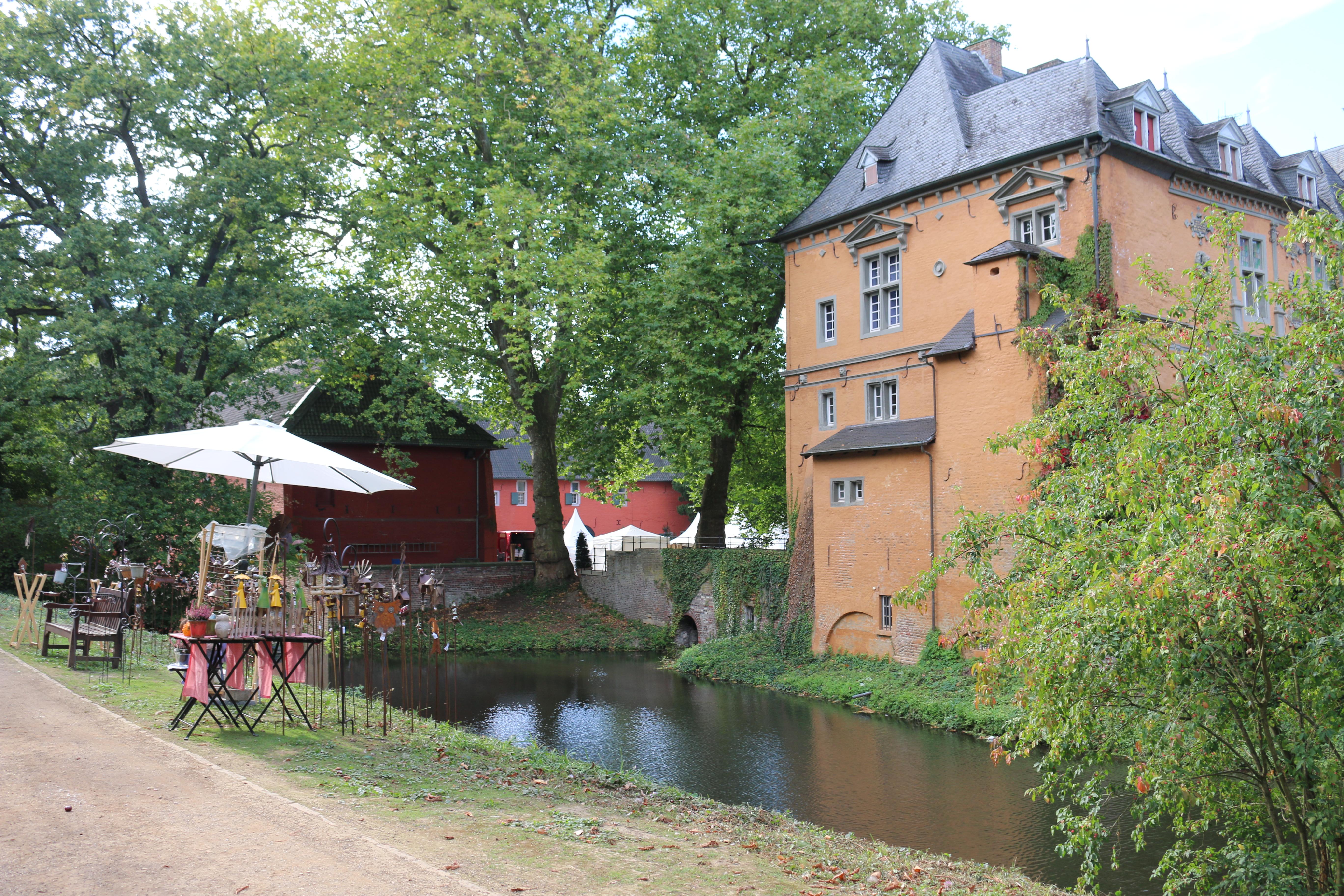 Gartenwelt in Schloss Rheydt