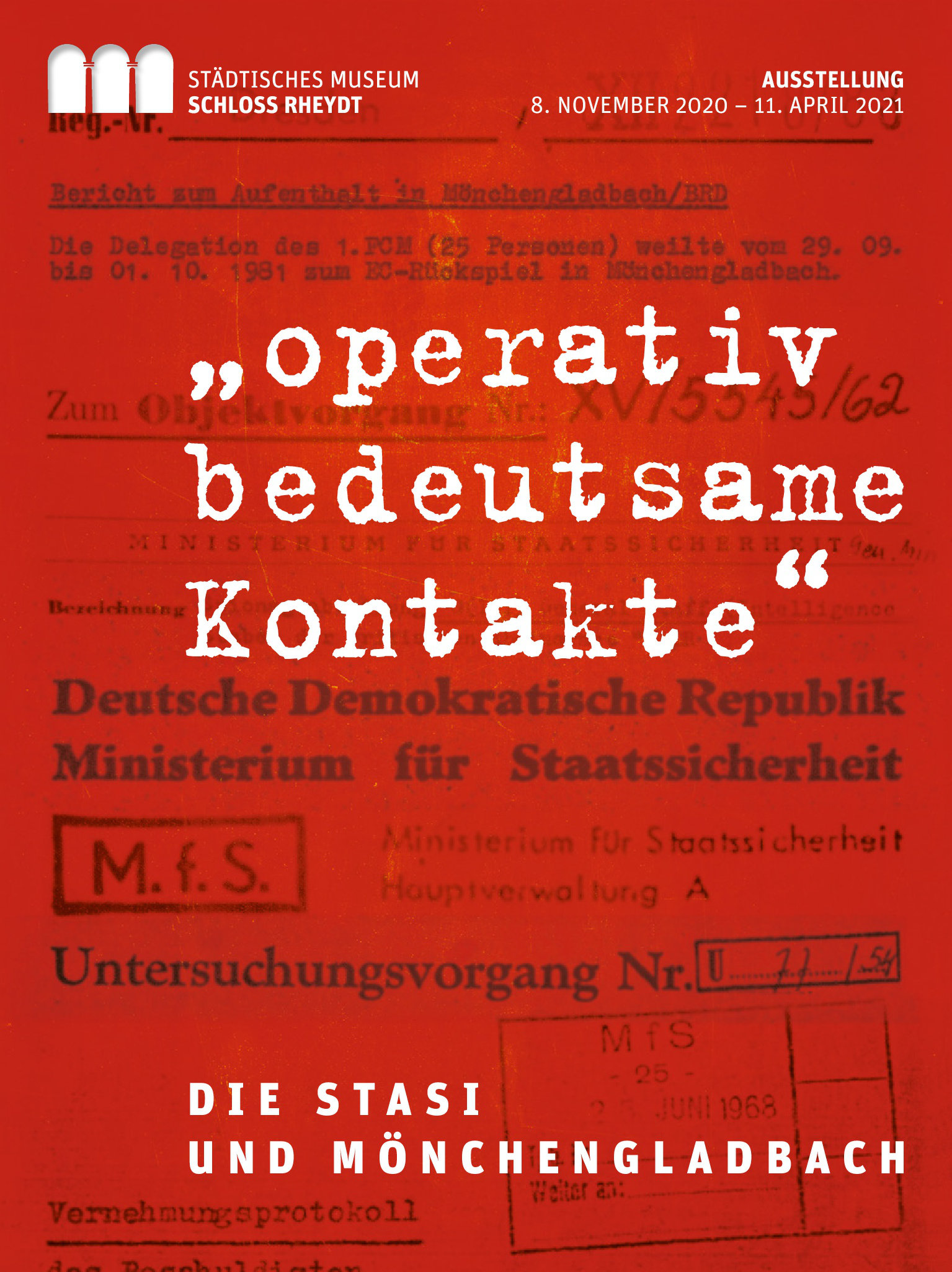´Operativ bedeutsame Kontakte´. Die Stasi und Mönchengladbach