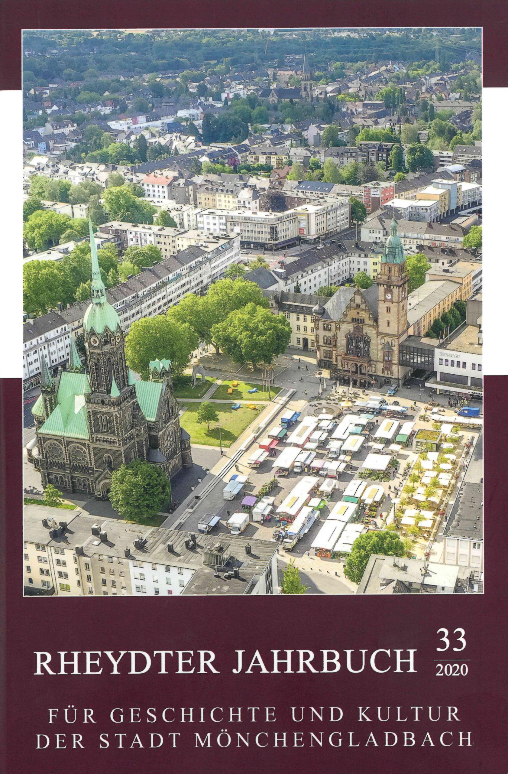 Das neue Rheydter Jahrbuch 2020 ist erschienen!