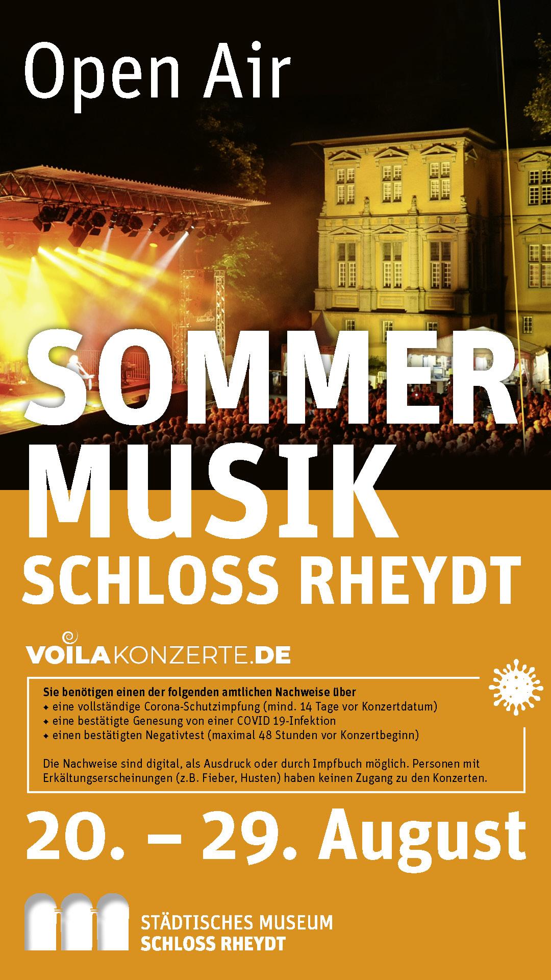 Sommermusik Schloss Rheydt